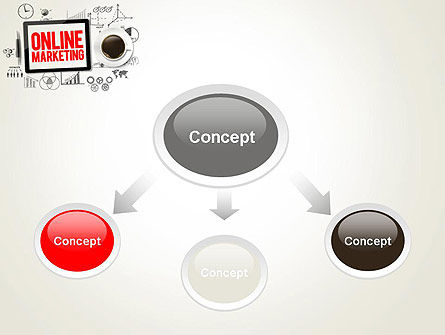 Online Marketing Strategy Concept PowerPoint Template Slide 4