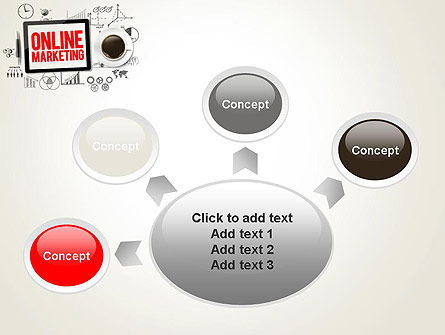 Online Marketing Strategy Concept PowerPoint Template Slide 7