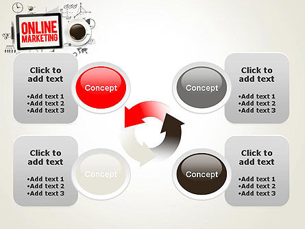 Online Marketing Strategy Concept PowerPoint Template Slide 9