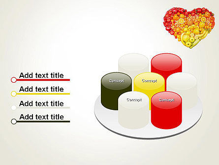 Fruits and Vegetable Heart PowerPoint Template Slide 12