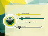 Polygonal Design PowerPoint Template#3