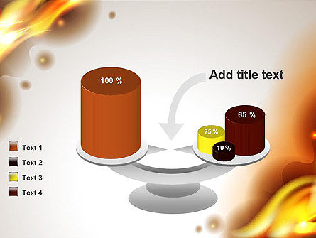 Burning Paper PowerPoint Template Slide 10