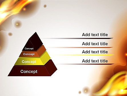 Burning Paper PowerPoint Template Slide 12