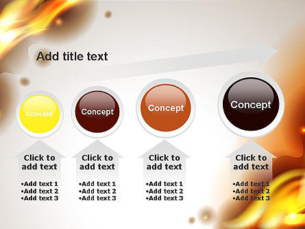 Burning Paper PowerPoint Template Slide 13