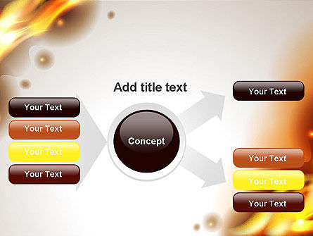 Burning Paper PowerPoint Template Slide 14