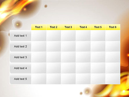 Burning Paper PowerPoint Template Slide 15