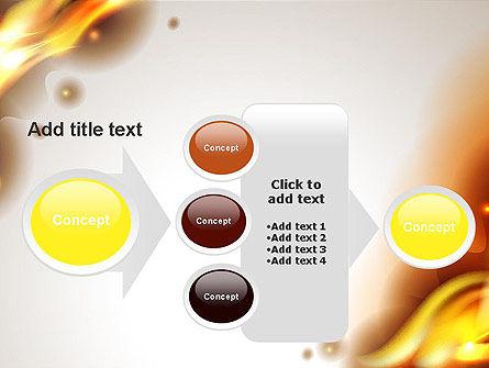 Burning Paper PowerPoint Template Slide 17