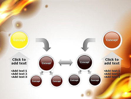 Burning Paper PowerPoint Template Slide 19