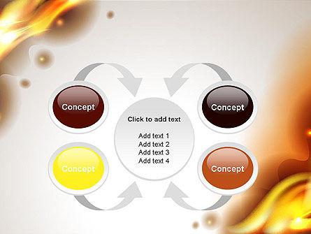 Burning Paper PowerPoint Template Slide 6