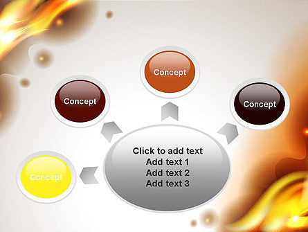 Burning Paper PowerPoint Template Slide 7