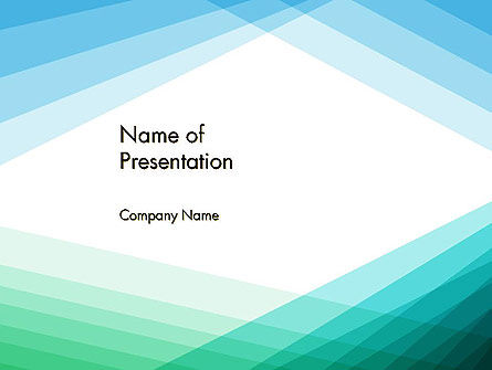 Diagonal Lines Against White Background PowerPoint Template