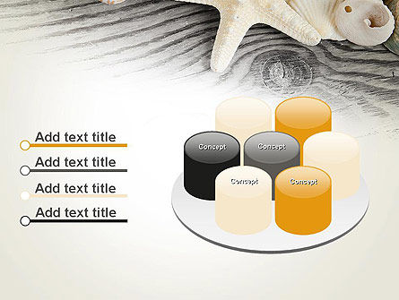 Shells and Starfish PowerPoint Template Slide 12