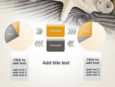 Shells and Starfish PowerPoint Template Slide 16