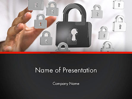 Data Protection and Security PowerPoint Template