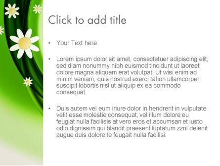 Spring Flowers PowerPoint Template, Slide 3, 13942, Nature & Environment — PoweredTemplate.com