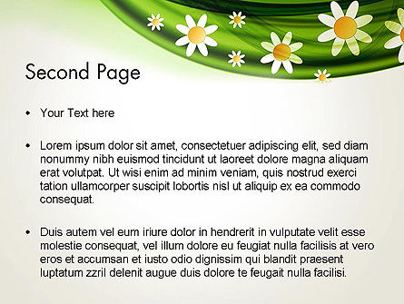 Spring Flowers PowerPoint Template, Slide 2, 13942, Nature & Environment — PoweredTemplate.com