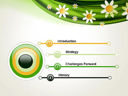 Spring Flowers PowerPoint Template, Slide 3, 13942, Nature & Environment — PoweredTemplate.com