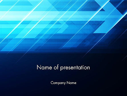 Aimed to Goal Abstract PowerPoint Template