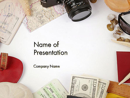 Careers/Industry: Preparing for Vacation PowerPoint Template #13948
