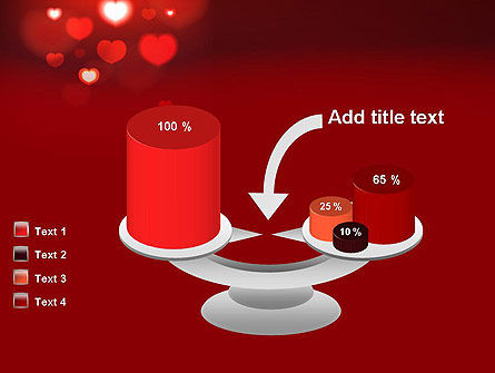 Hearts Love Theme PowerPoint Template Slide 10