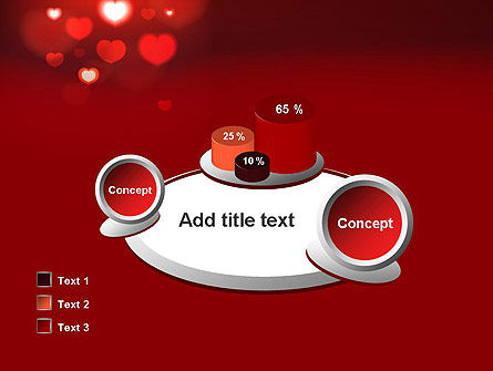 Hearts Love Theme PowerPoint Template Slide 16
