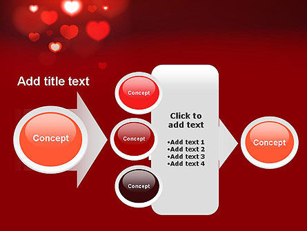 Hearts Love Theme PowerPoint Template Slide 17