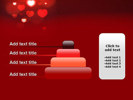 Hearts Love Theme PowerPoint Template Slide 8