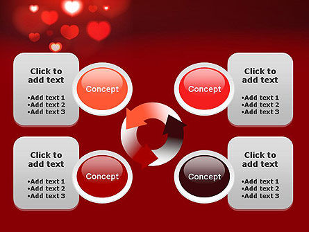 Hearts Love Theme PowerPoint Template Slide 9