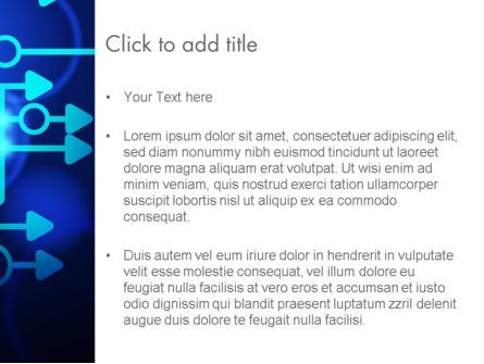 Blue Techno PowerPoint Template, Slide 3, 13950, Technology and Science — PoweredTemplate.com