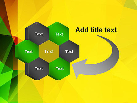 Yellow Polygonal PowerPoint Template Slide 11