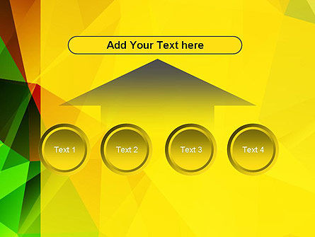 Yellow Polygonal PowerPoint Template Slide 8