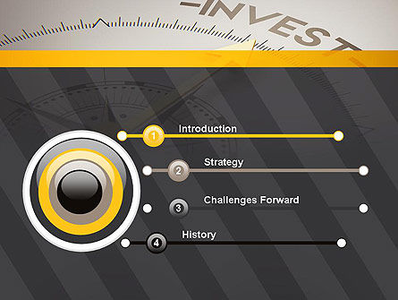 Invest Indicator PowerPoint Template, Slide 3, 13952, Financial/Accounting — PoweredTemplate.com