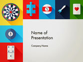 Careers/Industry: Gambling Theme PowerPoint Template #13953