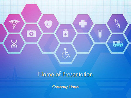 Technology and Science: Biochemistry PowerPoint Template #13955