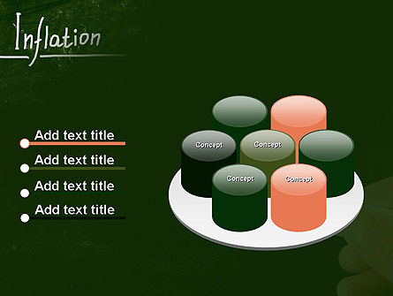 Inflation Lettering PowerPoint Template Slide 12