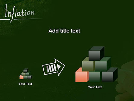 Inflation Lettering PowerPoint Template Slide 13