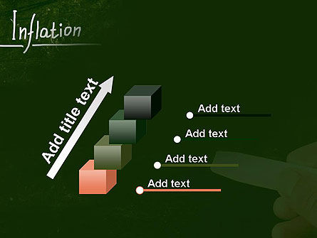 Inflation Lettering PowerPoint Template Slide 14