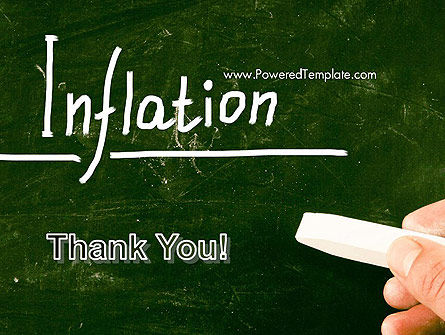 Inflation Lettering PowerPoint Template Slide 20