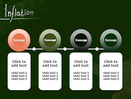 Inflation Lettering PowerPoint Template Slide 5