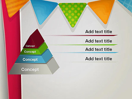 Paper Birthday Banner PowerPoint Template Slide 12