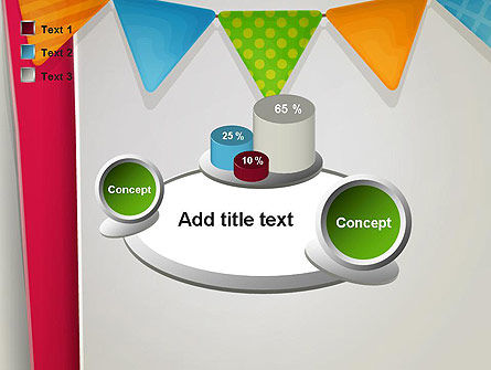 Paper Birthday Banner PowerPoint Template Slide 16