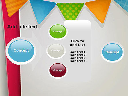 Paper Birthday Banner PowerPoint Template Slide 17