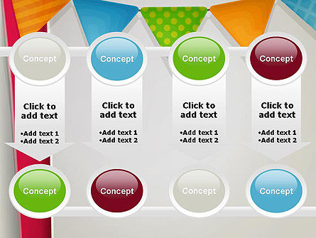Paper Birthday Banner PowerPoint Template Slide 18