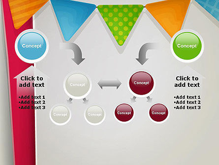 Paper Birthday Banner PowerPoint Template Slide 19