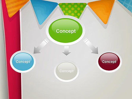 Paper Birthday Banner PowerPoint Template Slide 4