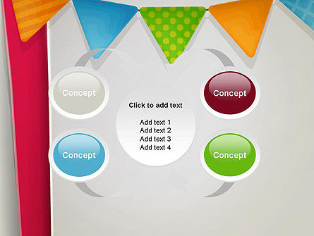 Paper Birthday Banner PowerPoint Template Slide 6