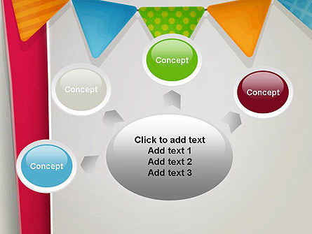 Paper Birthday Banner PowerPoint Template Slide 7