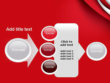 Curves in The Corner PowerPoint Template Slide 17
