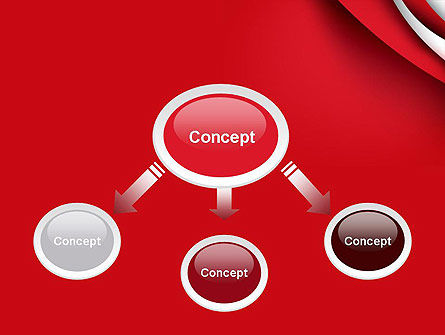 Curves in The Corner PowerPoint Template Slide 4