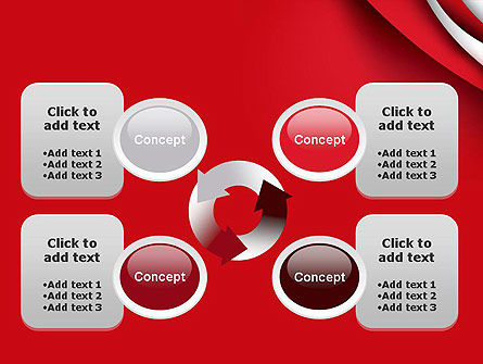 Curves in The Corner PowerPoint Template Slide 9